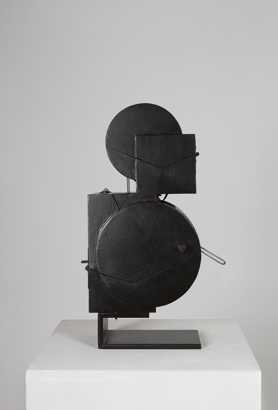 8*2 Noir (2017) H. 48cm Ouverte 56cm L. 22cm Ouverte 42cm P. 23cm