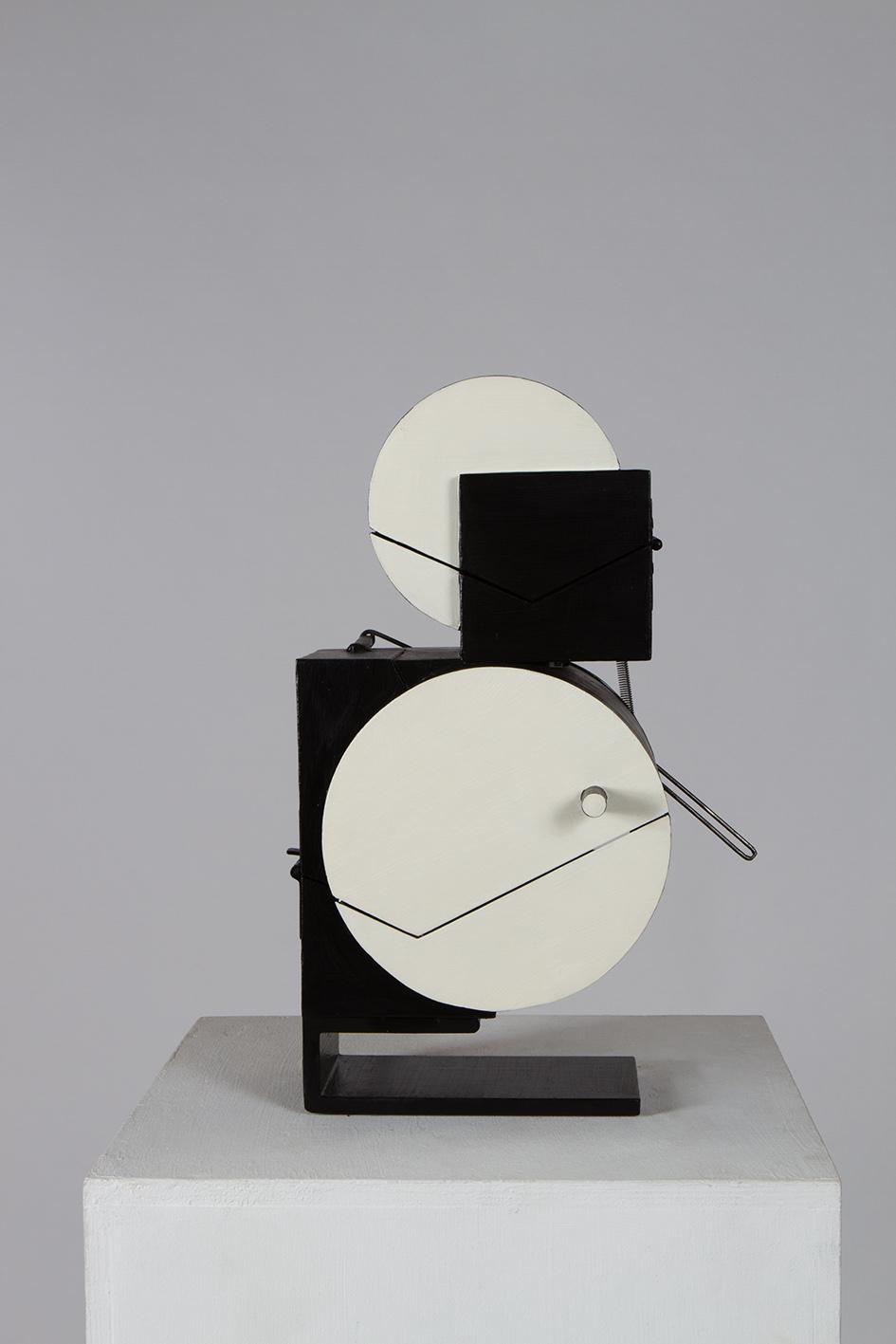 8*2 Noire et blanche (2015) H. 35cm Ouverte 47cm L. 27cm Ouverte 40cm P. 20cm