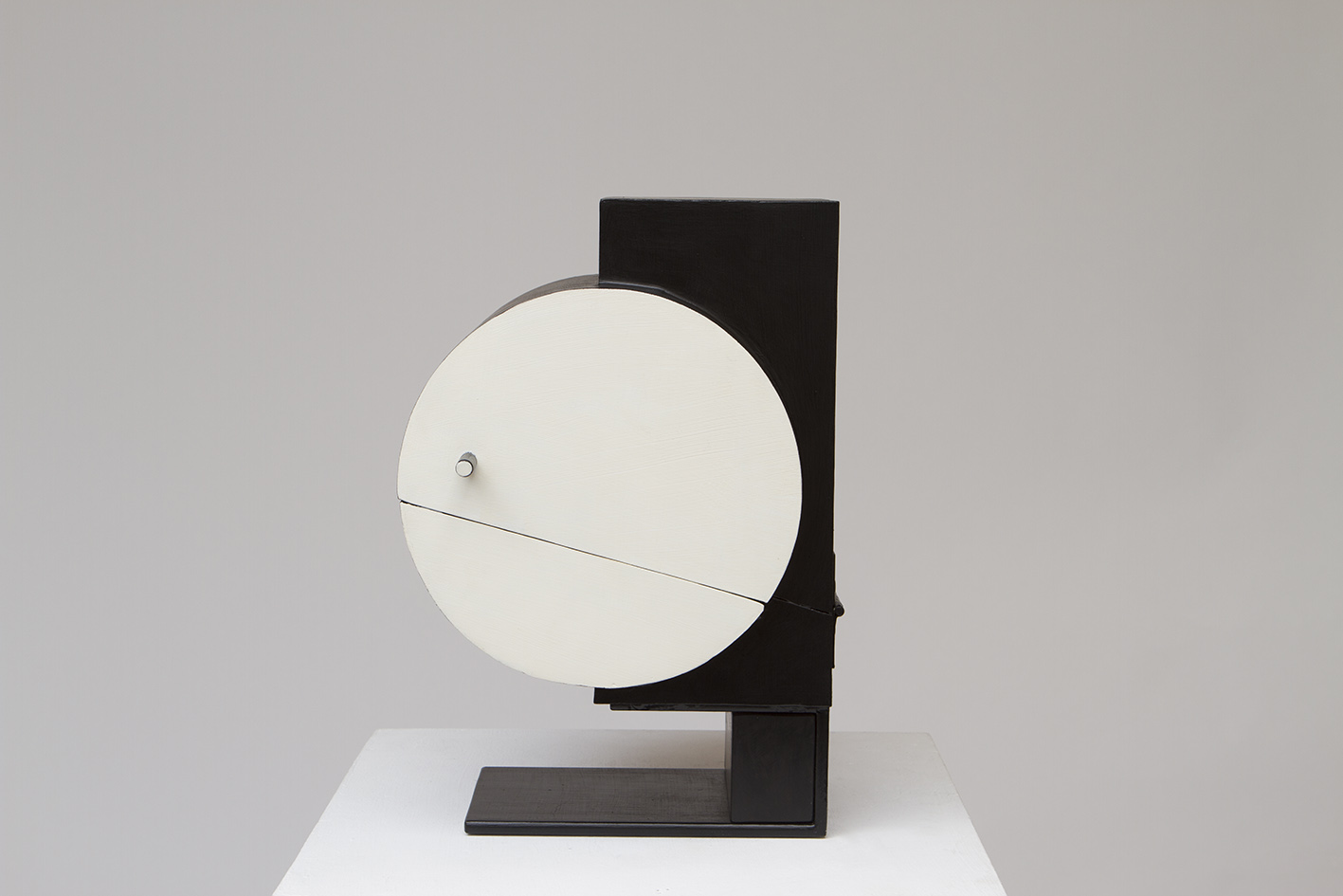 Disque au rectangle (2015) H. 38cm Ouverte 41cm L. 25cm Ouverte 49cm P. 22cm